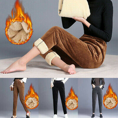 £11.59 • Buy Womens Sweatpants Fleece Winter Thermal Thick Warm Lined Pants Long Trousers