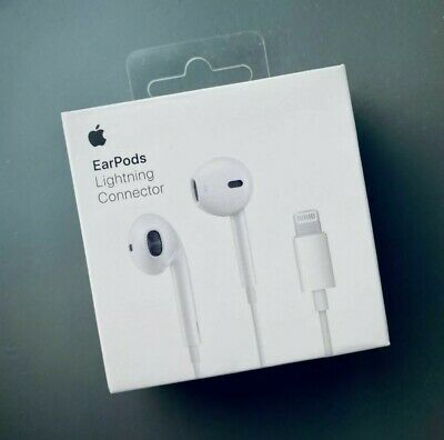 £14.99 • Buy Genuine Apple EarPods With Lightning Connector For I Phone 7 8 X 11 12