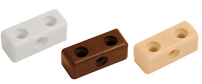 Modesty Blocks Kitchen Cabinet Cupboard Fixing Joint Connector White Brown Beige • 2.99£