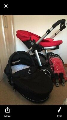 ICandy Apple Single Seat Stroller Pushchair Carry Cot • 175£