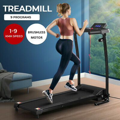 AU339.90 • Buy Electric Treadmill Home Gym Equipment Exercise Running Fitness Machine Folding