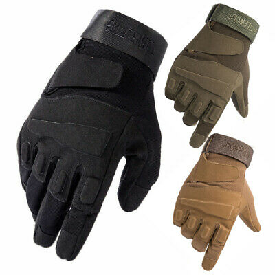 $12.99 • Buy Tactical Full Finger Gloves Woman Men Safety Military Cycling Fishing Biking