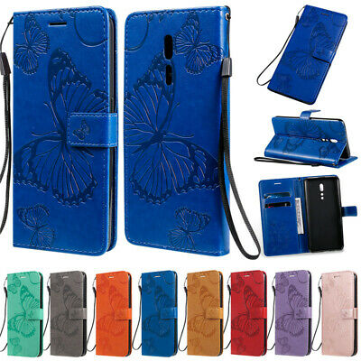 AU8.99 • Buy For Reno Z Oppo A5 A9 2020 Realme 5 C2 Butterfly Wallet Leather Flip Case Cover