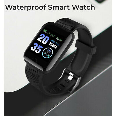 AU16.95 • Buy Smart Watch Bluetooth Heart Rate Blood Fitness Tacker Braclet For Android IOS