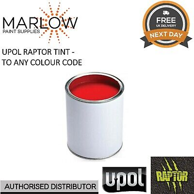 £28.88 • Buy 400ml Tint Colour For Upol Raptor Bed Liner - Any Colour Code Available