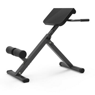£66.98 • Buy Adjustable AB Back Bench Hyperextension Exercise Abdominal Roman Chair Fitness .