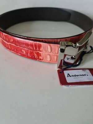 £50 • Buy  ANDERSON'S Made In ITALY Men's Calf Leather Belt 36UK / 90EU New With Tag