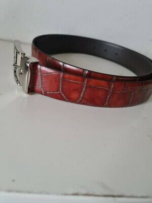 £50 • Buy  ANDERSON'S Made In ITALY Men's Calf Leather Belt 40 UK / 100EU New With Tag