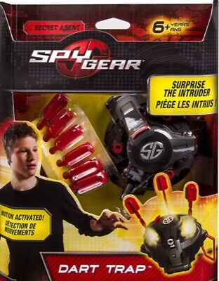 Spy Gear Kids Dart Trap Toy Christmas Motion Activated New Sealed Role Play • 24.99£