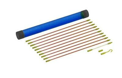 £8.70 • Buy Cable Rods Access Kit 10 X 30cm Electricians Draw Puller Wires