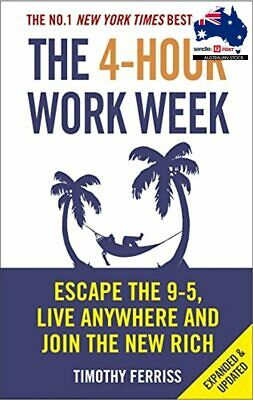 AU31.15 • Buy The 4 Hour Work Week Tim Ferriss Paperback Book Four 9 5 Escape | Free Shipping