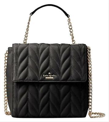 $ CDN178.61 • Buy Kate Spade Briar Lane Quilted Brayden Nappa Leather Backpack Or Shoulder Bag 399