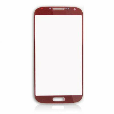 For Samsung Galaxy S4 Mini I9195 - Outer Glass Touch Screen Digitizer - Red • 34.99£