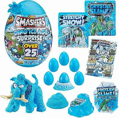 Zuru Smashers Large Dino Ice Age Surprise Egg With Over 25 Surprises - Series 3 • 25.99£