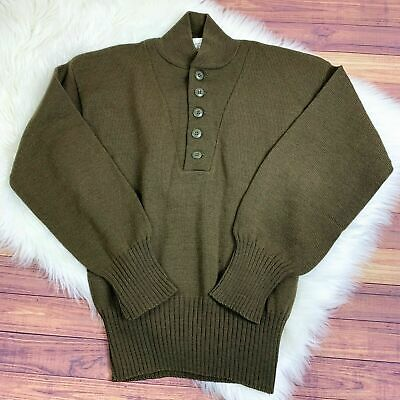 $18.99 • Buy US Army Military Sweater 100% Wool Jack Young Associates Mens Small