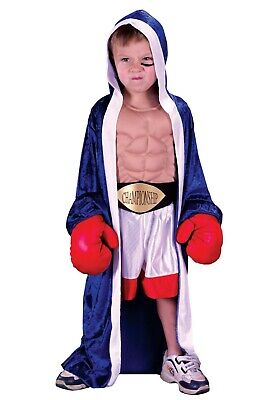 £14.15 • Buy Child Lil' Champ Boxer Robe Costume Size M (Used With Defect)