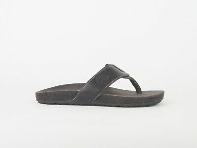 Mens Timberland Thong 20596 Brown Leather Toe Post Sandals  • 35£