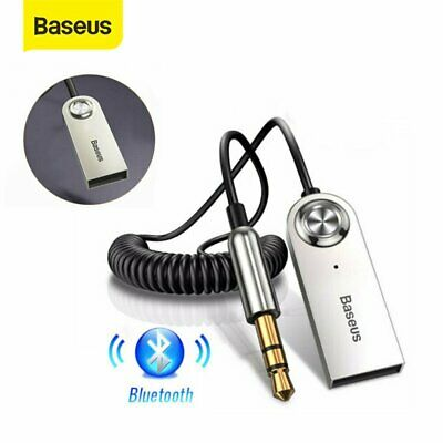 $11.95 • Buy Baseus Wireless Bluetooth 5.0 Receiver 3.5mm Car AUX Audio Stereo Music Adapter