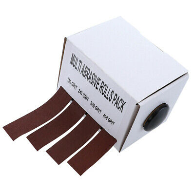 AU25.79 • Buy Abrasive Paper Sandpaper With Dispenser Drawable Emery Cloth Glass Carpentry AU