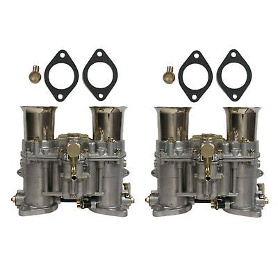 $ CDN596.23 • Buy 2 X New Carburetor With Two Gaskets For Weber 48 IDA ROD 19030.018 19030.015