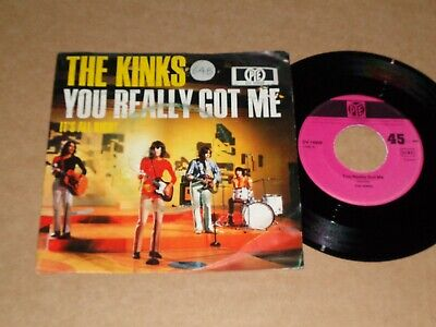 Kinks  You Really Got Me  German Pye P/C 45 (1970 Issue) • 4£