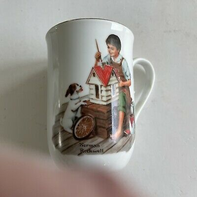 $ CDN14.87 • Buy Norman Rockwell Museum Vintage Coffee Mug Cups A Dollhouse For Sis