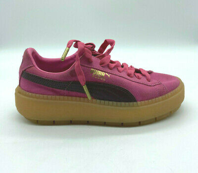 AU49.99 • Buy Puma Suede Pink Womens Sneakers Size US 6 Euro 36 UK 3.5