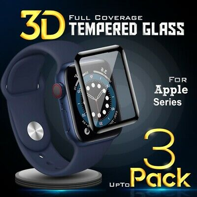 AU4.99 • Buy For Apple Watch IWatch Series 2 3 4 5 6 SE 38/40/42/44mm Glass Screen Protector