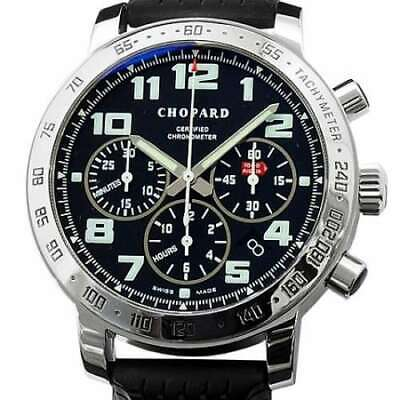 £2574.99 • Buy Free Shipping Pre-owned Chopard Mille Miglia Chronograph 16/8920 Black Dial