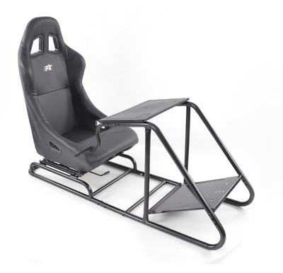 Simulator Chair Racing Seat Driving Game Xbox Playstation PC F1 VR Gaming Wheel • 259£