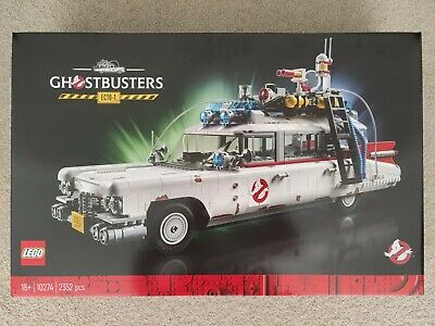 AU350 • Buy Brand New LEGO Ghostbusters Ecto-1 10274