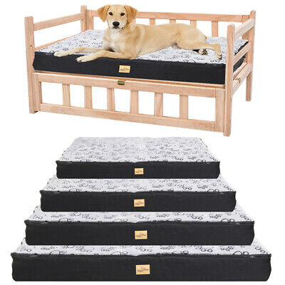 AU51.94 • Buy Large Dog Bed For Dog Raised Bed Kennel Cage Mat Waterproof Cover Anti-skidding