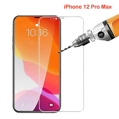 AU5.99 • Buy 9H Tempered Glass Screen Protector Guard For Apple IPhone 12 PRO MAX Front