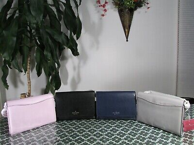$ CDN106.70 • Buy NWT Kate Spade Smooth Leather Kerri Small Flap Wallet On A String