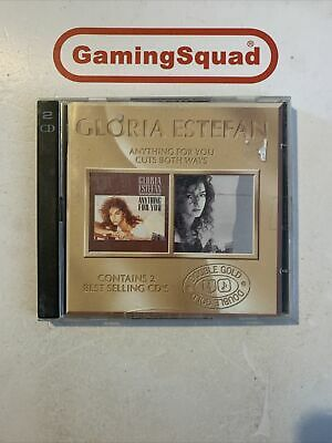 £3.30 • Buy Gloria Estefan, Anything For You + Cuts Both Ways CD, Supplied By Gaming Squad