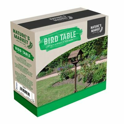 £25.95 • Buy Deluxe Bird Table Garden Wild Bird Care Feeding Seeds Station Standing New