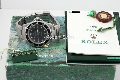 $ CDN12020.98 • Buy Rolex Submariner No Date 2 Liner 2000 Box/Papers 14060 40mm