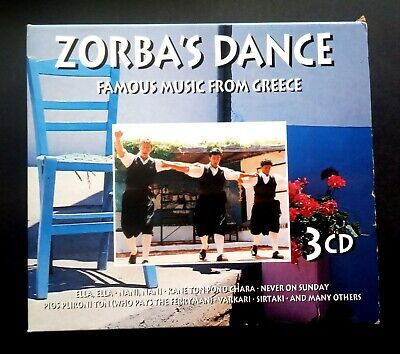 Various - Zorbas Dance Famous Music From Greece UK 3xCD Goldies - 1999 • 20.23£