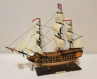 £38 • Buy NAUTICALIA Model Ship Victor With Sails TRIBUTE Period NEW High Spec LONDON