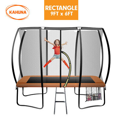 AU904.94 • Buy Kahuna Trampoline 6 Ft X 9 Ft Rectangular Outdoor - Orange