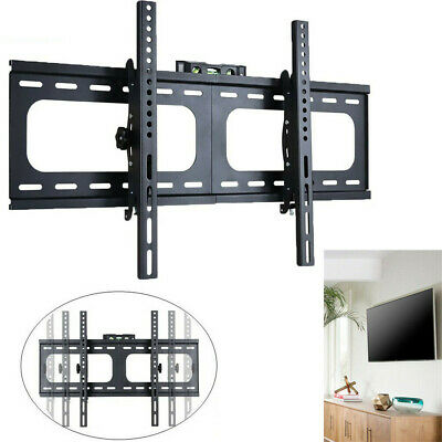AU35.93 • Buy Strong Thick Fixed TV Wall Bracket VESA Mount For LCD LED Plasma 26-75  Screen