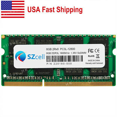 $36.65 • Buy US 8GB PC3L-12800S 1600mhz 204pin Sodimm For MacBook Pro Mid-2012 A1286 A1278