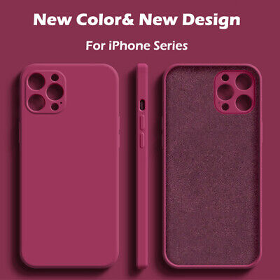 AU5.35 • Buy Case For IPhone 11 12 Pro Max Mini XR XS X 8 7 Plus SE Shockproof Silicone Cover