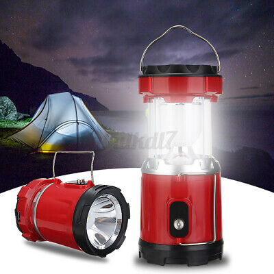 AU16.69 • Buy Solar LED Lantern Camping Fishing Light Rechargeable Lamp Tent Outdoor AU
