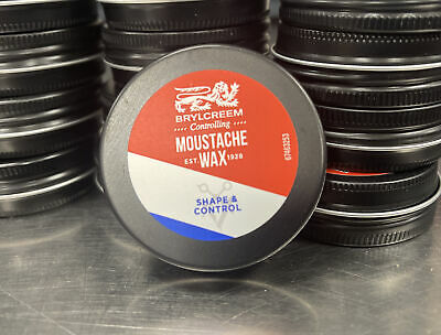 Brylcreem Controlling MOUSTACHE WAX Shape & Control 30ml - New - Free Postage • 2.99£