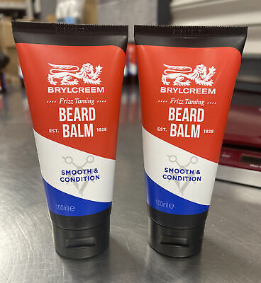 2 X 100ml Brylcreem Beard Balm Smooth And Condition Styling Frizz Taming - New • 4.99£