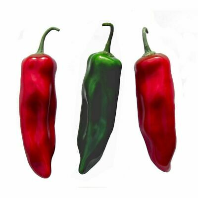 Pk 6 Artificial Chilli Peppers, Food Props, Window Display, Fake Chilli Peppers • 30.60£