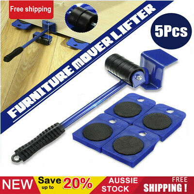 AU18.58 • Buy Furniture Lifter Heavy Roller Move Tool Set Moving Wheel Mover Sliders Kit AU