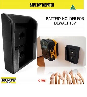AU26.40 • Buy 6x Battery Holder Mount For Dewalt 18V 20V