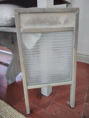£38 • Buy Vintage Washboard With Glass